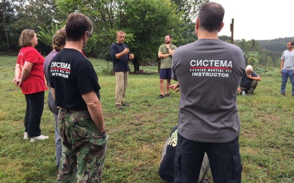 Maryland Systema Training at King Farm Village Center